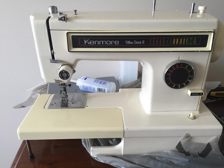 kenmore 8 sewing machine