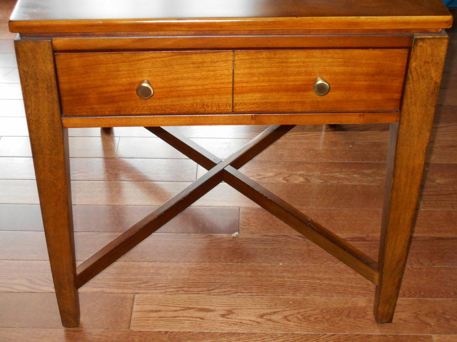 Solid Wood Sofa Table ~ Solid wood sofa table or buffet and end