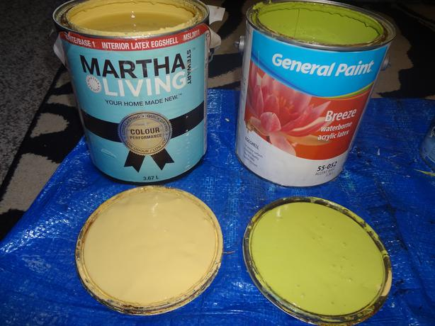 Interior Latex Eggshell Paint 1 Gallon Each Central Saanich Victoria