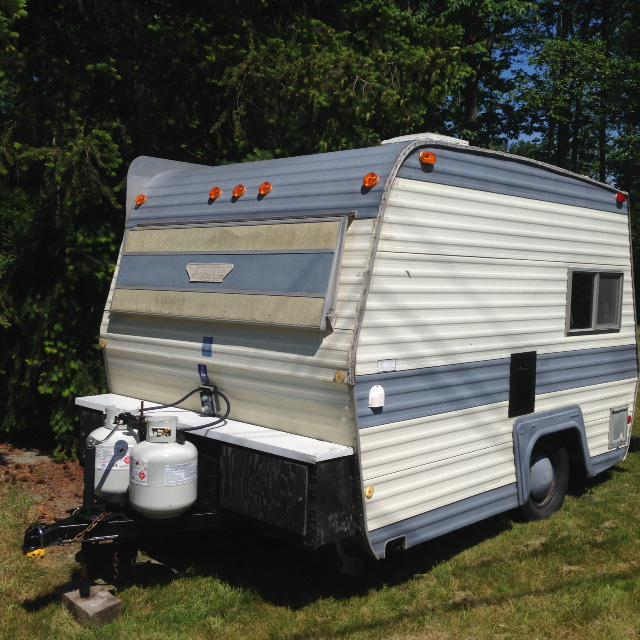 1973 13 Foot Vangaurd Travel Trailer Campbell River Comox Valley Mobile