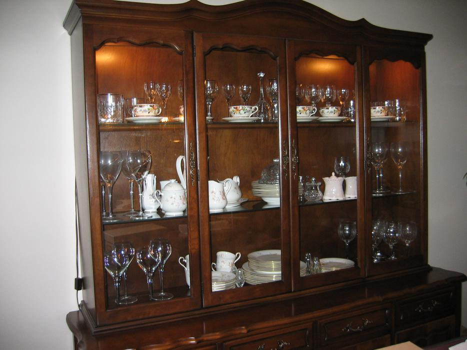 Dining Room Buffet And Hutch Central Ottawa Inside