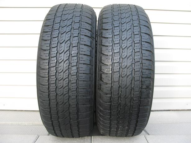 TWO (2) FIRESTONE DESTINATION LE TIRES /265/65/17/ - $120