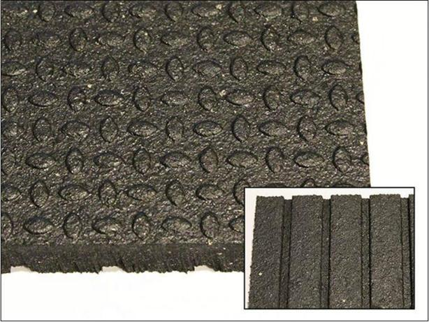 Rubber Horse Stall Matting - Durable & Tough!