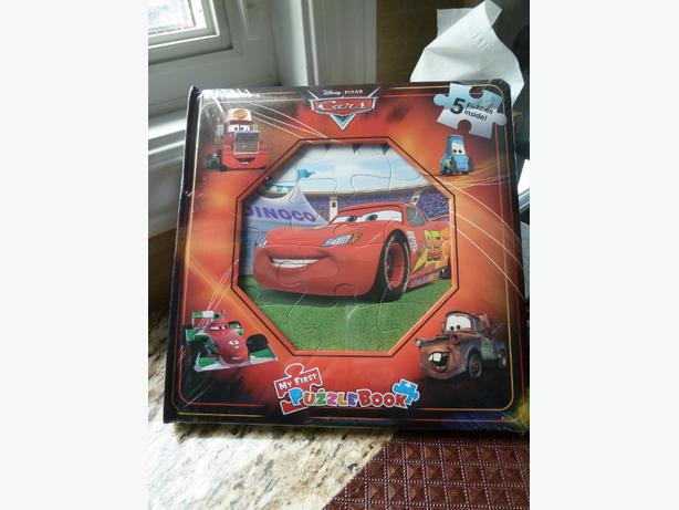 NEW My First Puzzle Book : Disney Cars