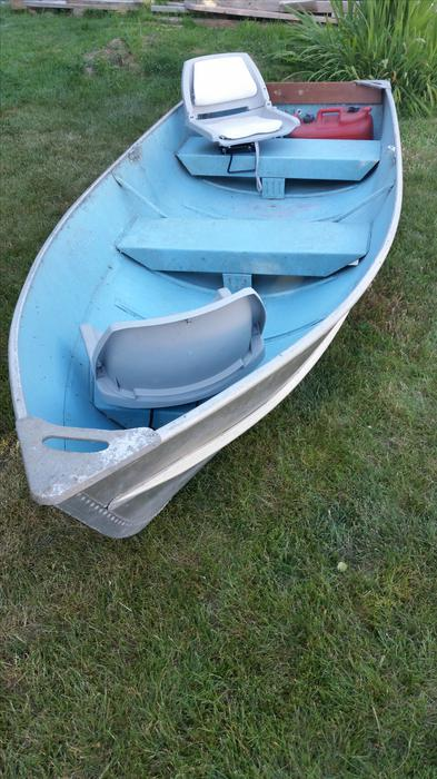 12 Aluminium Fishing Boat Amp 2 Motors Saanich Victoria