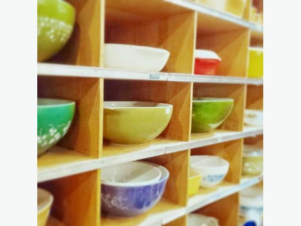 Vintage Pyrex - why not add some colour to your kitchen?