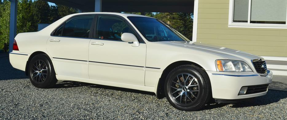 2002 acura rl 3 5 for sale trade south nanaimo parksville qualicum beach mobile. Black Bedroom Furniture Sets. Home Design Ideas