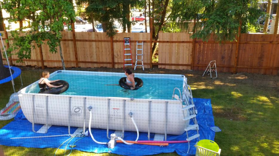 Hydroforce Swimming Pool Central Nanaimo Parksville Qualicum Beach Mobile