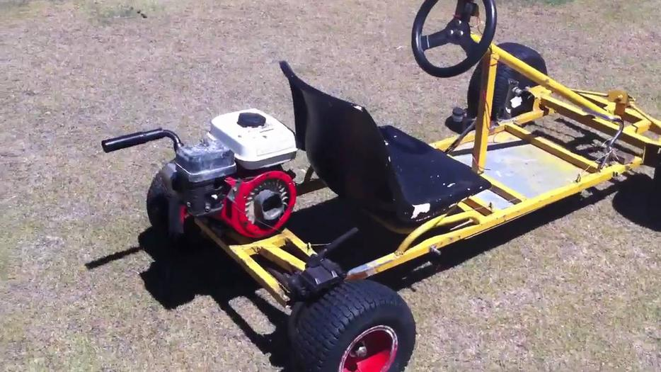 Wanted go kart frame or a complete go kart north saanich for Go kart montreal exterieur