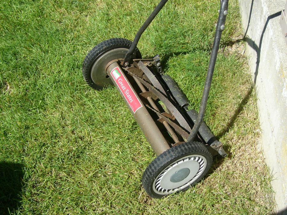 Great States Corporation Deluxe Push Reel Lawn Mower Model