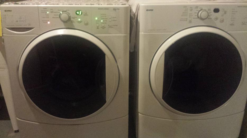 Kenmore He2 Plus Front Load Washer Dryer Gloucester