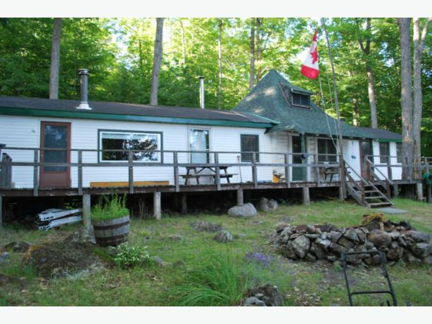 Cottage For Sale Lac Du Poisson Blanc White Fish Lake On