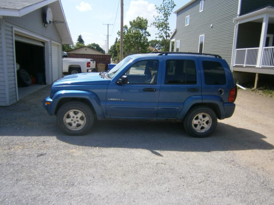 2003 Jeep Liberty Full 4x4 Limited Edition Sunroof And Ice