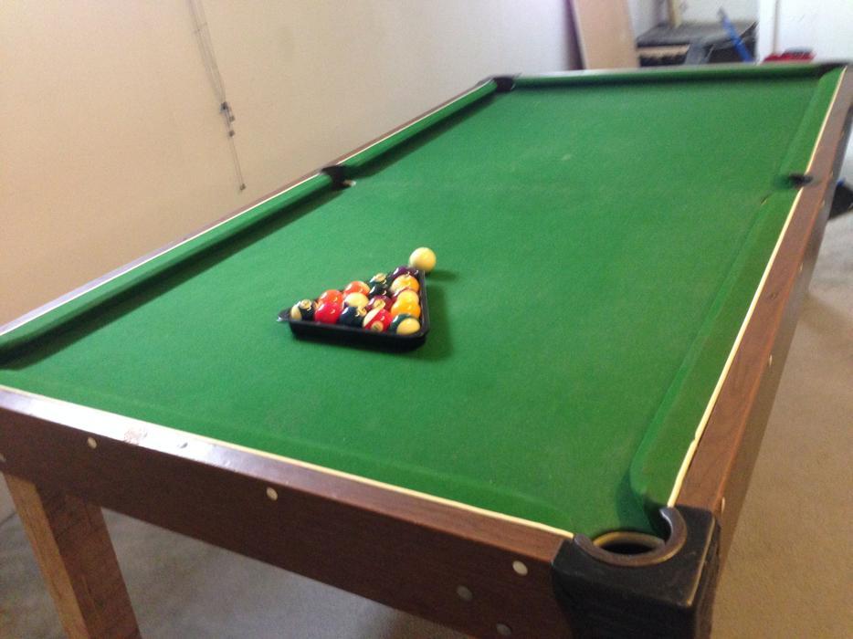 Reduced three times pool table ping pong table south regina regina - Table billard ping pong ...