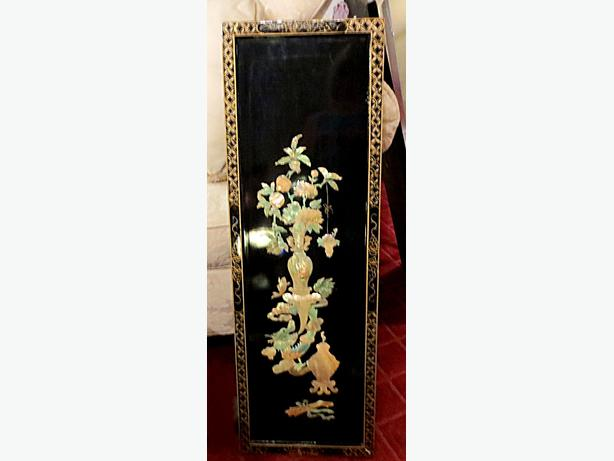 Mother of pearl asian wall d cor visa mcard delivery avail central ottawa inside - Wall decoration with pearls ...