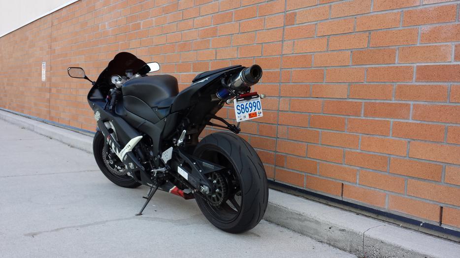 Kawasaki Ninja R Used Windscreen