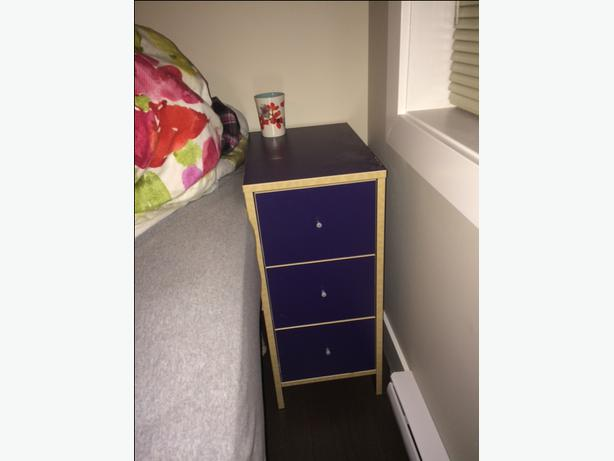 Ikea Corner Desk 2extensions With Drawers Low Unit