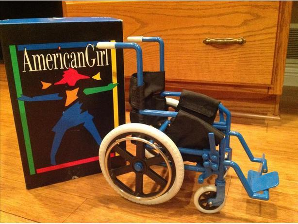 "American girl Wheelchair for your 18"" doll"
