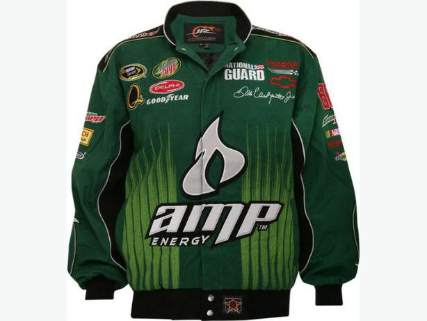 Dale Jr Nascar Amp Green Mens Racing Jacket-XXLarge