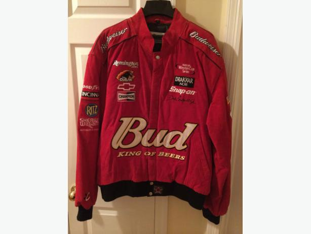 Dale Earnhardt Jr. Budweiser NASCAR Chase Authentics Mens Red Jacket 2XL