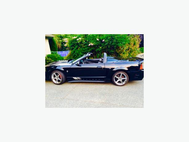 2001 Mustang Saleen Speedster Convertible Outside Nanaimo
