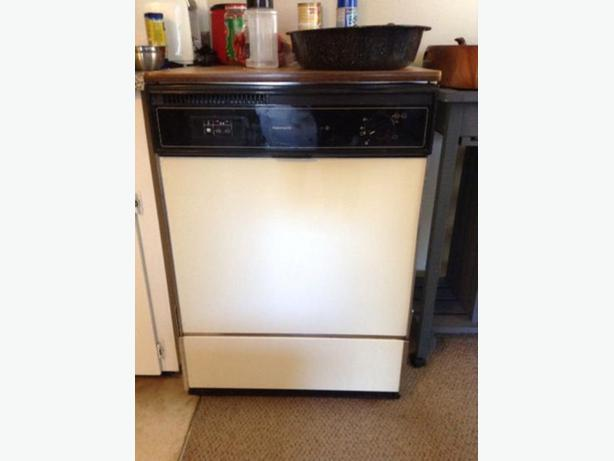 kenmore portable dishwasher with butcher block top