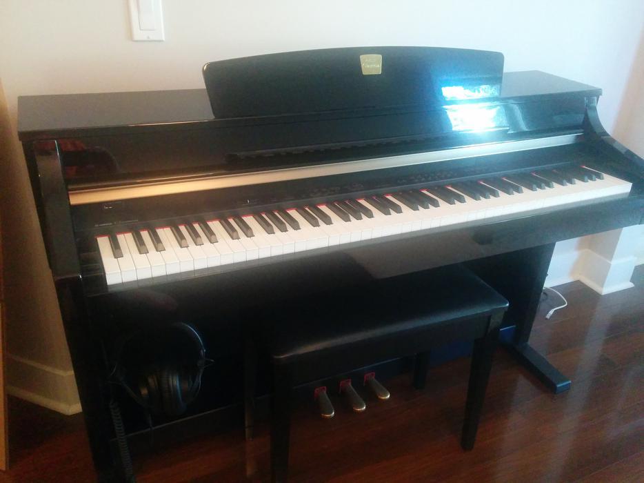 yamaha clavinova clp 330 digital piano saanich victoria