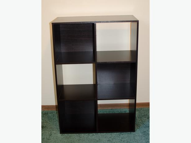 dark brown 6 cube shelves south nanaimo nanaimo. Black Bedroom Furniture Sets. Home Design Ideas