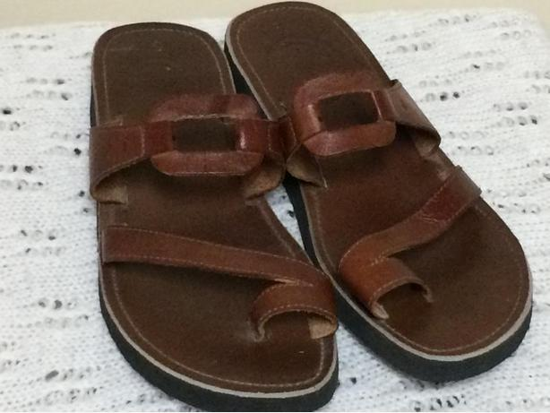 NEW Spanish Leather Sandals - Size 5 Men, 7.5 Ladies - $25 OBO