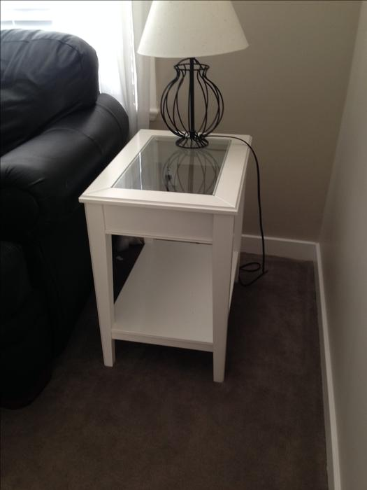 ikea liatorp side table saanich victoria. Black Bedroom Furniture Sets. Home Design Ideas