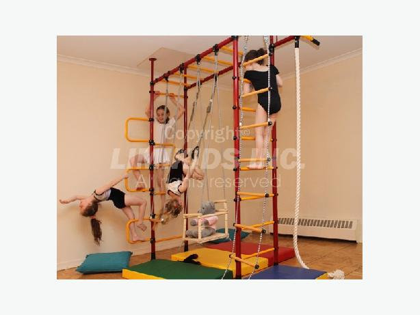 Limikids indoor home gym for kids toronto city