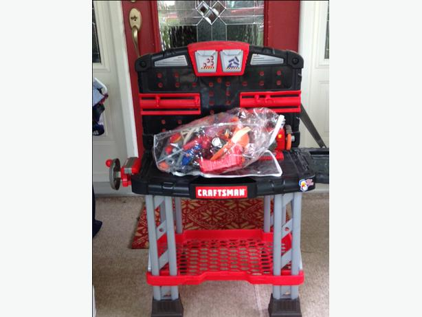 Craftsman Toy Tool Bench With Accessories Victoria City Victoria