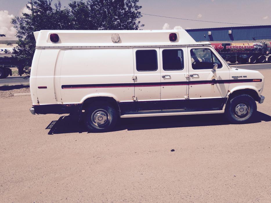 For Sale 1987 Ford E 350 Ex Ambulance Van East Regina Regina