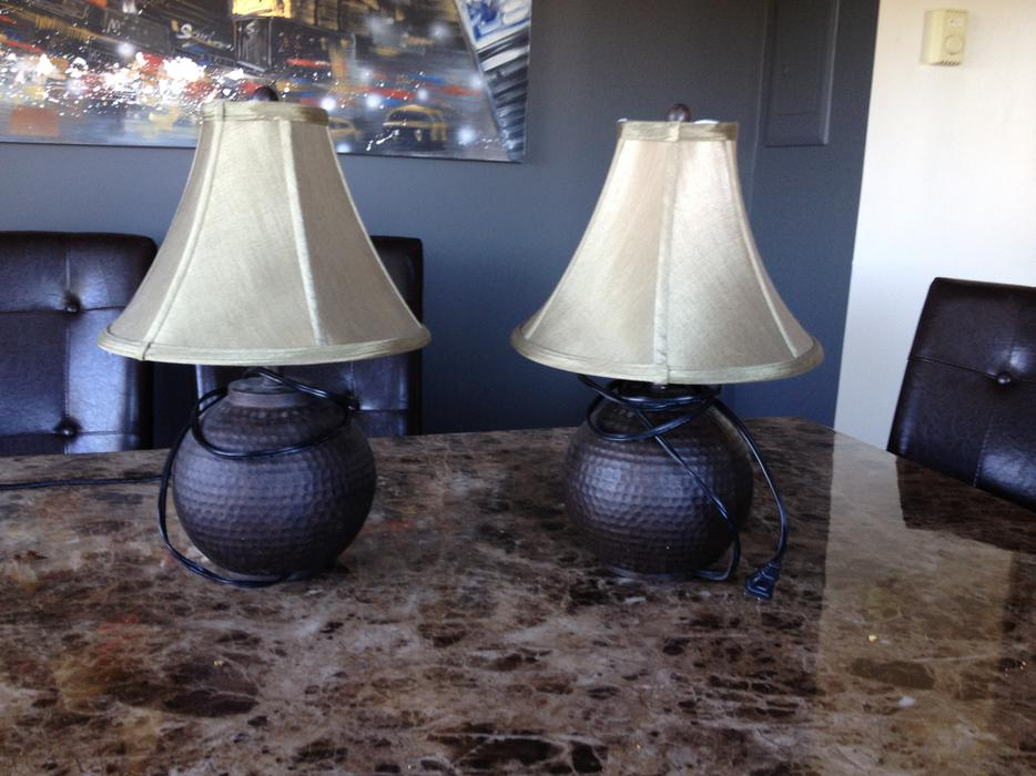 Two Lovely Table Lamps Saanich Victoria