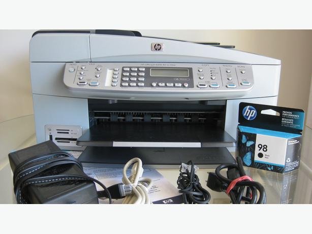 hp officejet 6310 all in one printer fax machine photocopier scanner victoria city victoria. Black Bedroom Furniture Sets. Home Design Ideas