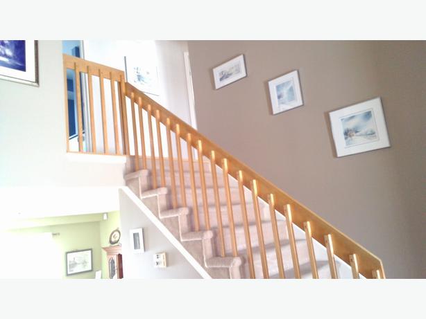 Escalier maison en bois ch ne gatineau sector quebec for Maison en bois mobile