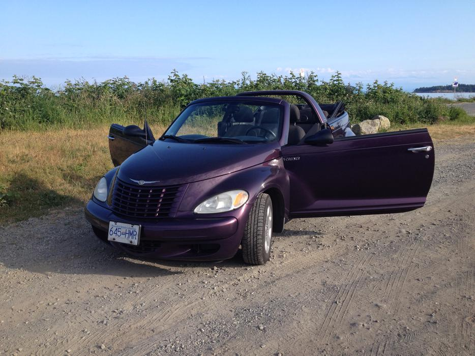 2005 pt cruiser convertible 5spd west shore langford. Black Bedroom Furniture Sets. Home Design Ideas
