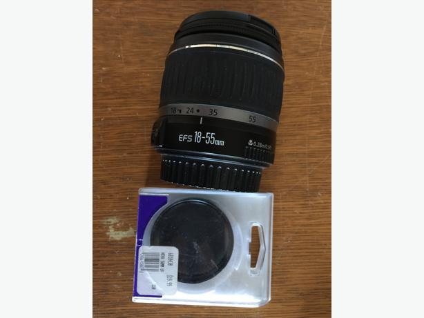 canon efs 18 55mm how to use