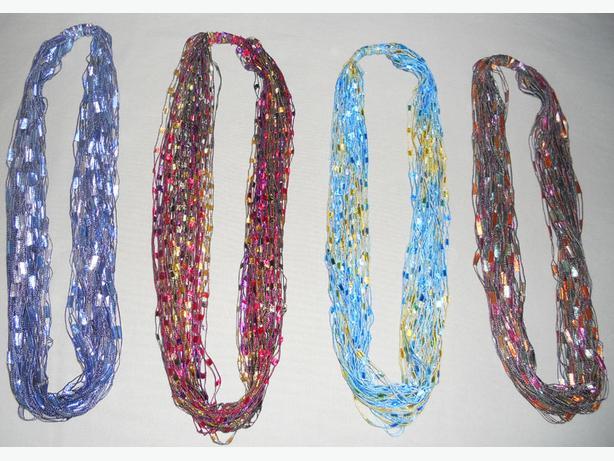 Necklaces, Trellis $5.  each for quick sale, support rescued pets