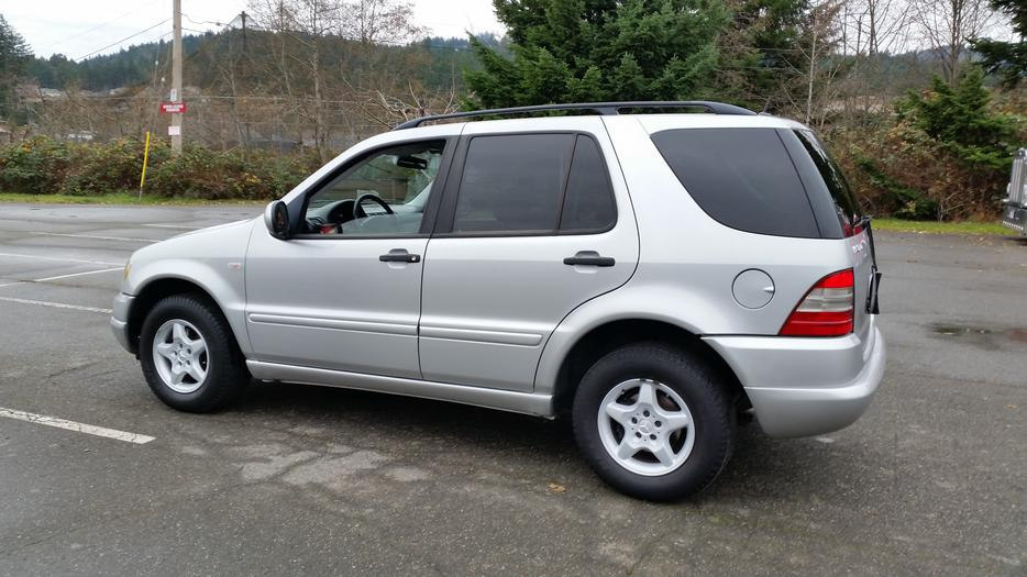 2001 mercedes benz ml320 west shore langford colwood for Mercedes benz family discount