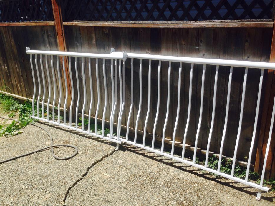 Aluminum Deck Railing Saanich Victoria MOBILE