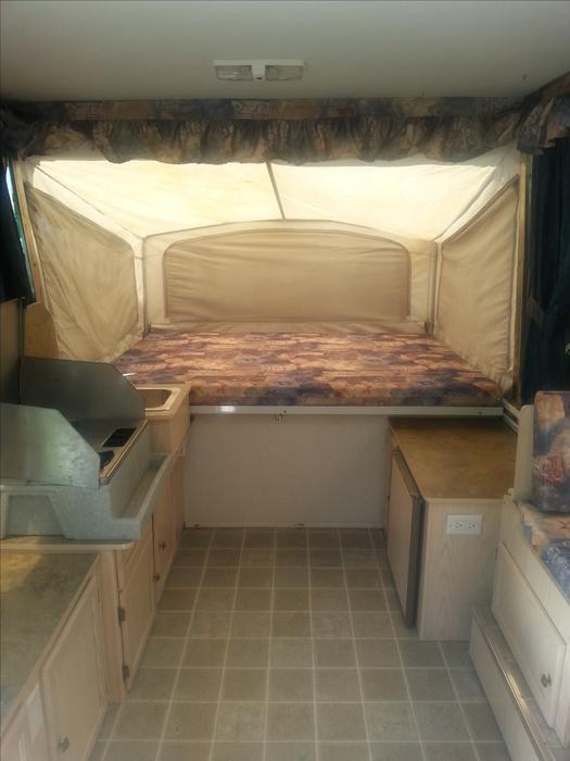 2002 Bonair Sl 2000 Hardtop Tent Trailer Sooke Victoria