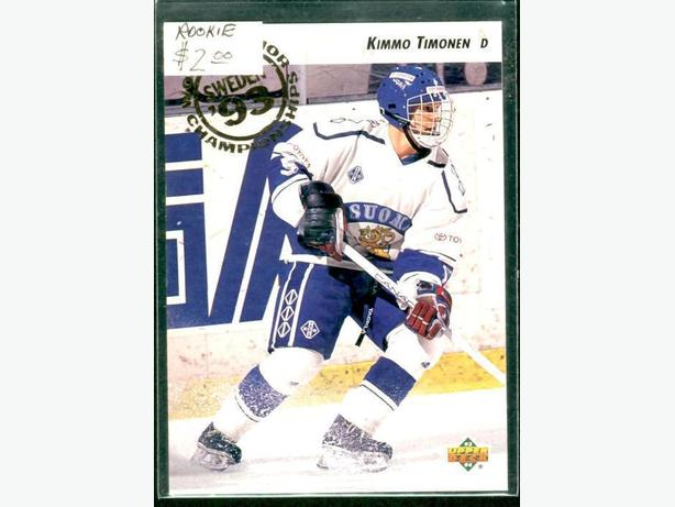 Kimmo Timonen Rookie Card Chicago Blackhawks