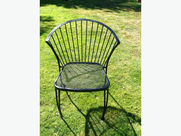 Wrought iron chairs victoria city victoria mobile - Used wrought iron furniture ...