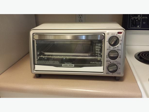 Black Decker 4 Slice White Toaster Oven Victoria City