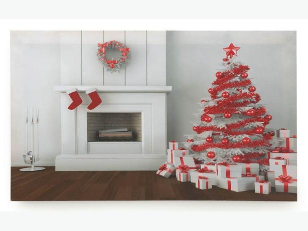 christmas light up led canvas wall art bulk buy 5. Black Bedroom Furniture Sets. Home Design Ideas