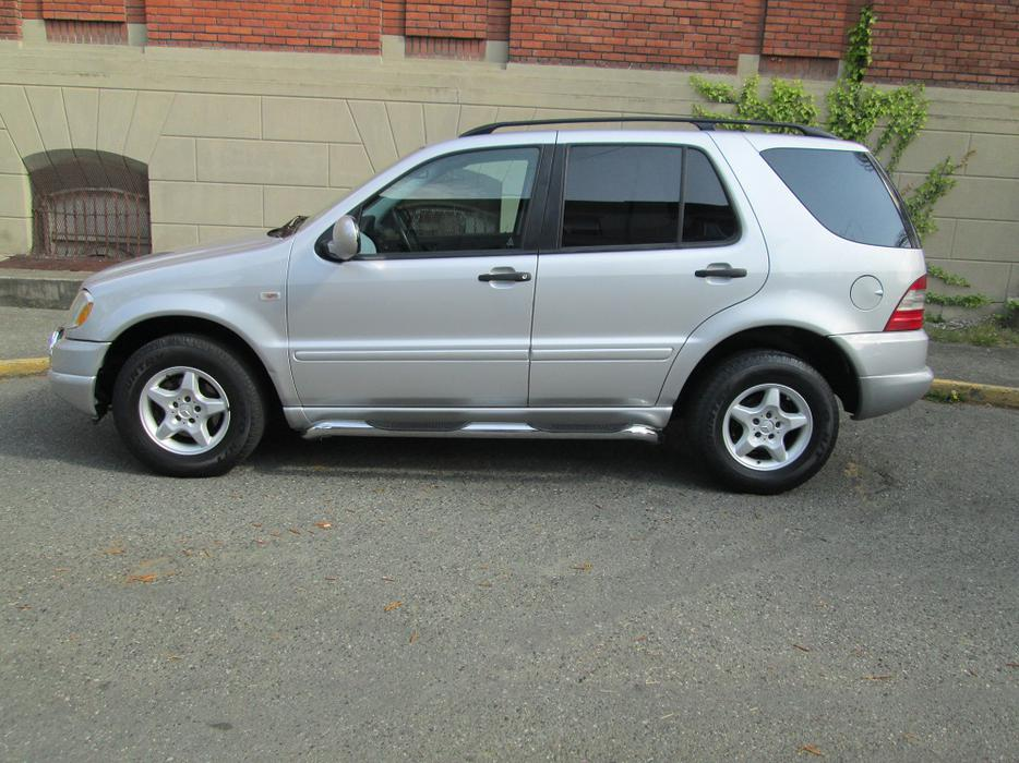 2001 mercedes benz ml320 awd on sale bc vehicle for Mercedes benz nanaimo