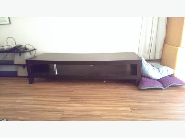 Black IKEA TV Stand Victoria City Victoria