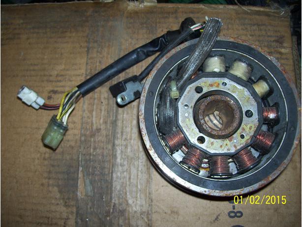 Yamaha VMax 700 VMax 600 Mt Max Venture stator and flywheel magneto and rotor
