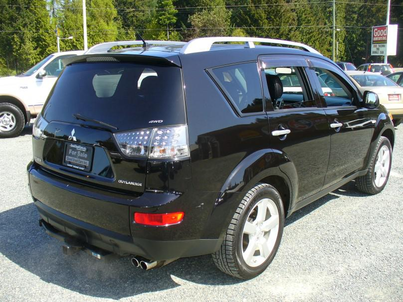 2007 mitsubishi outlander xls awd 7 leather sunroof. Black Bedroom Furniture Sets. Home Design Ideas